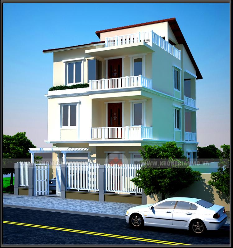 hiết kế kiến trúc biệt thự theo phong cách hiện đại