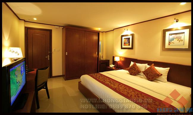 ( Thiết kế nội thất khách sạn PHÒNG NGỦ ĐÔI - PHÒNG VIP- KHÁCH SẠN 4****)