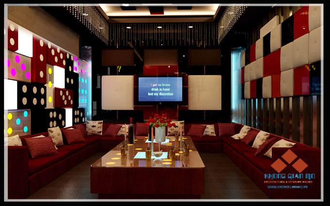 Thiết kế karaoke - KeVin - Lê Đức Thọ Phối cảnh phòng karaoke VIP