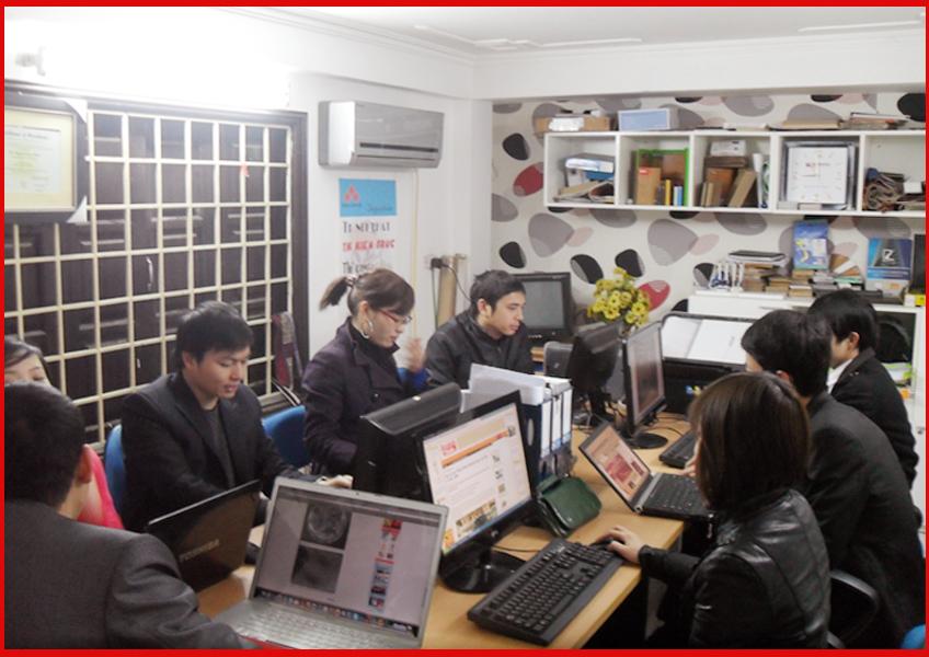 Phòng thiết kế CTY KHÔNG GIAN MỞ