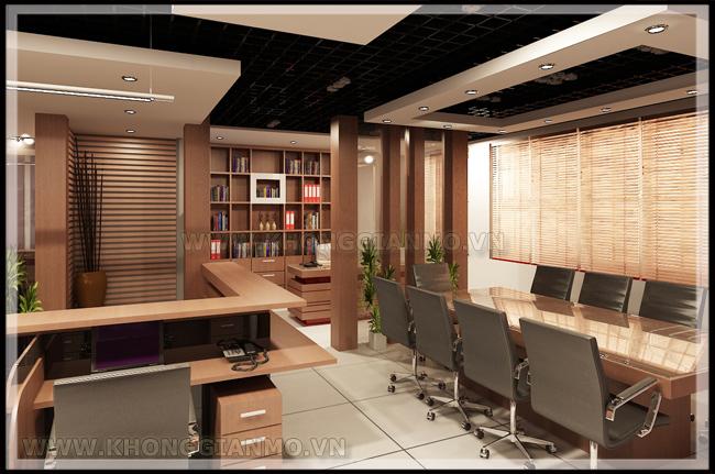Thiết kế nội thất văn phòng - Thiết kế phòng họp