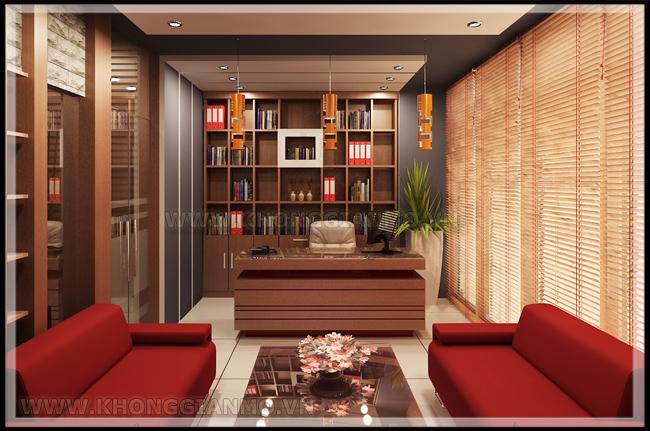 Thiết kế nội thất văn phòng - Thiết kế phòng giám đốc